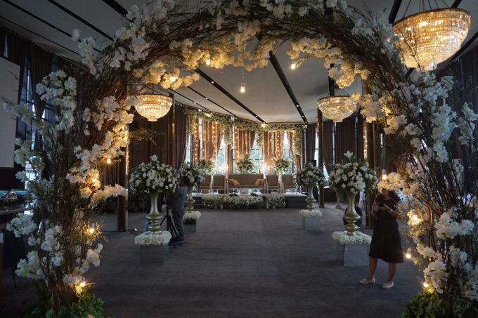 The Wedding of Amanda & Rizky by Chakra Venue - 001