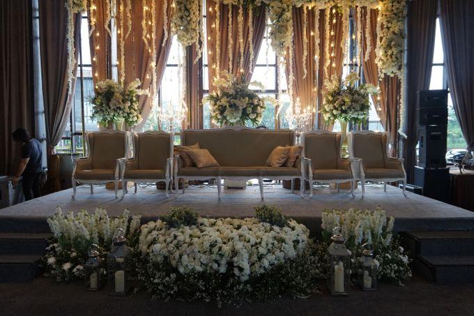 The Wedding of Amanda & Rizky by Chakra Venue - 002