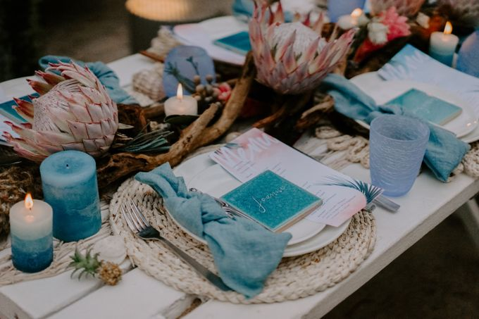 Beach Wedding Inspiration Style Shoot by Natalie Wong Photography - 005