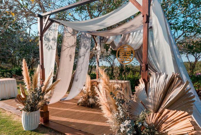 Albert & Cassandra Wedding by Le Grande Bali Uluwatu - 003