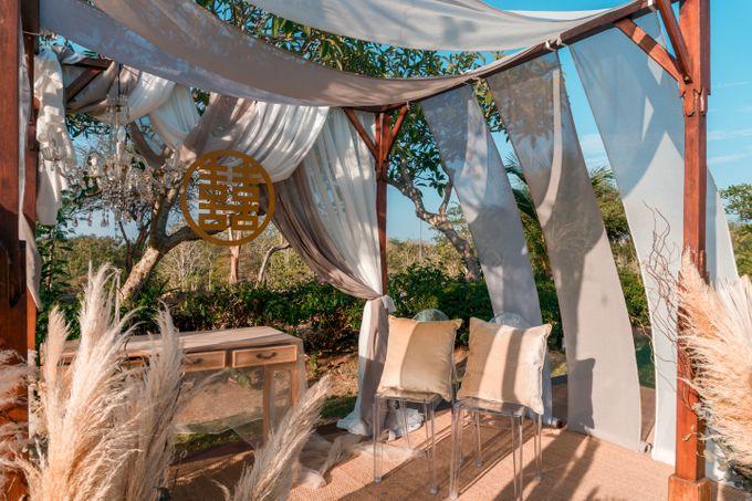 Albert & Cassandra Wedding by Le Grande Bali Uluwatu - 004