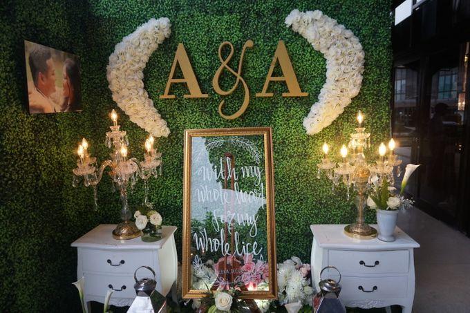 The Wedding of Amanda & Rizky by Chakra Venue - 003