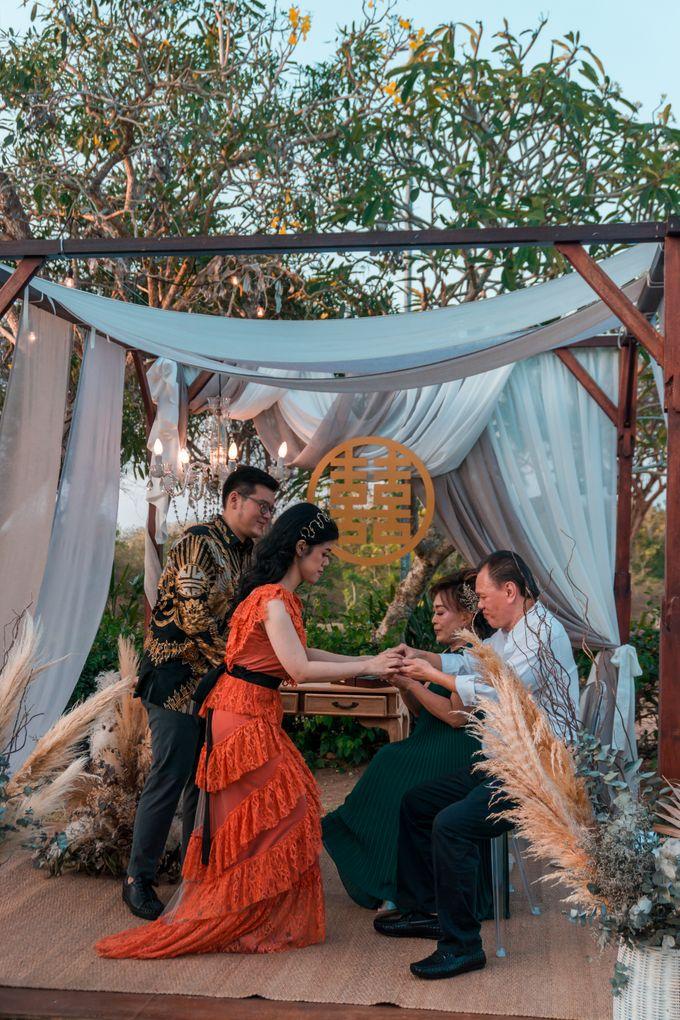 Albert & Cassandra Wedding by Le Grande Bali Uluwatu - 006