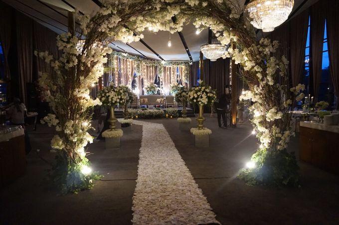 The Wedding of Amanda & Rizky by Chakra Venue - 004