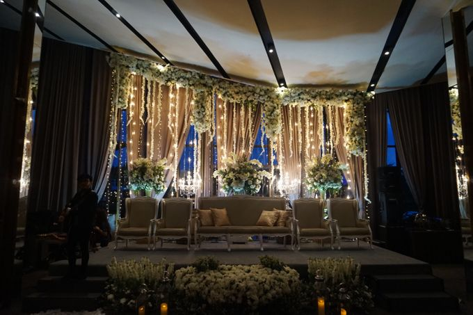 The Wedding of Amanda & Rizky by Chakra Venue - 005