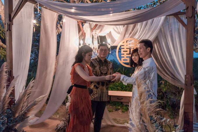Albert & Cassandra Wedding by Le Grande Bali Uluwatu - 008