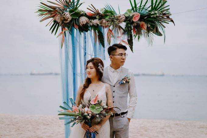 Beach Wedding Inspiration Style Shoot by Carat 55 - 003