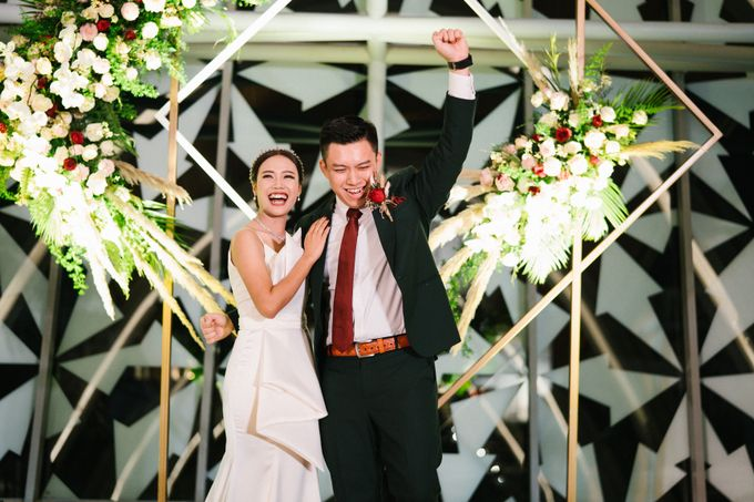 The Wedding of Calvin & Ling ling by Bali Yes Florist - 019
