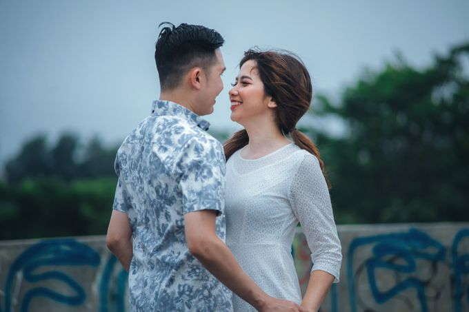 Prewedding at Gedung Gobel of Dessy & Aldo by: Gofotovideo by GoFotoVideo - 018