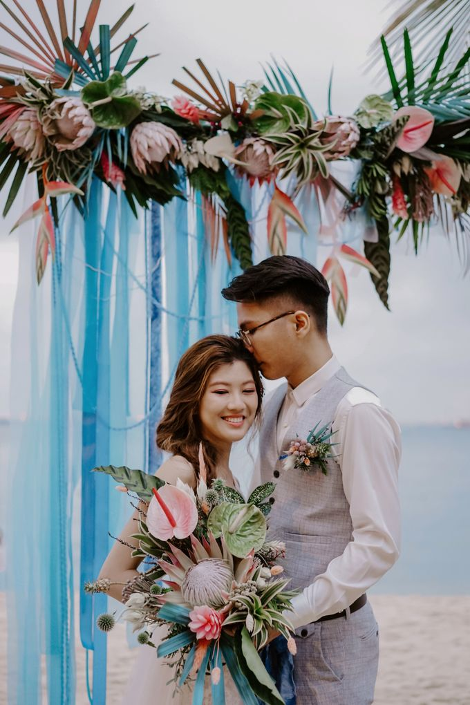 A Summer Coastal Styled Shoot with Bridestory by Carat 55 - 002