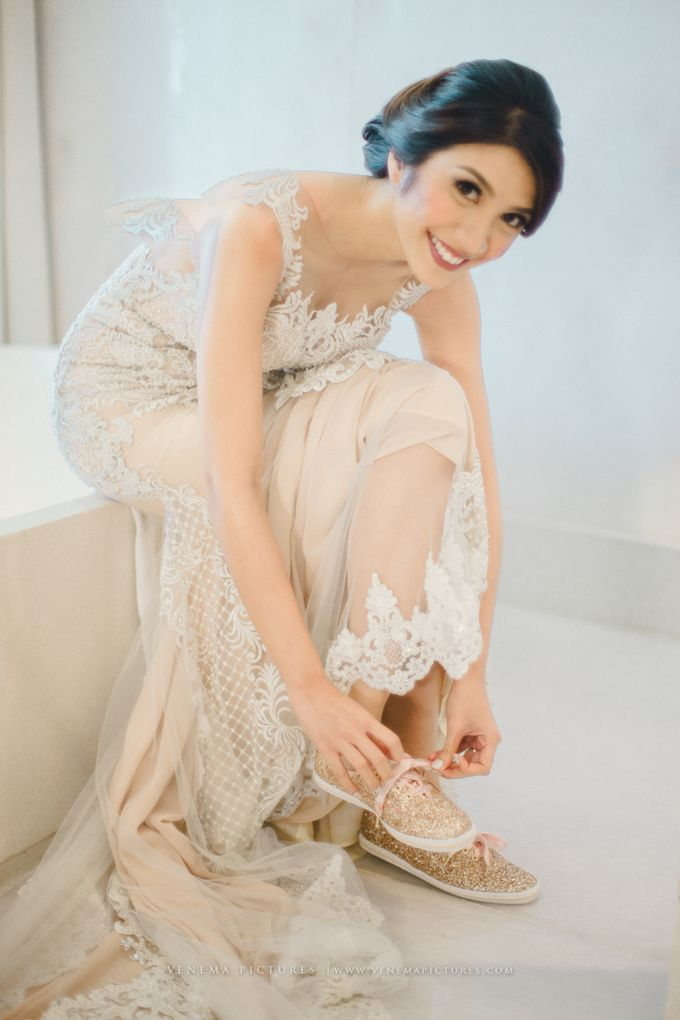 The Wedding of Acha & Andy by Bubah Alfian Make Up Artist - 010