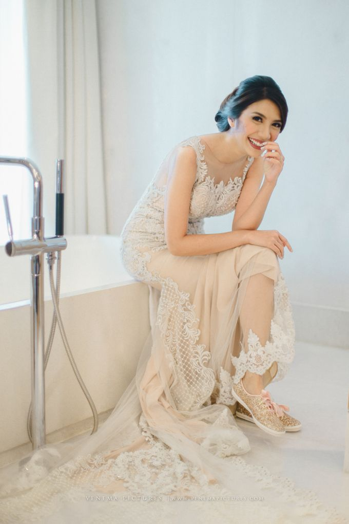 The Wedding of Acha & Andy by Bubah Alfian Make Up Artist - 011