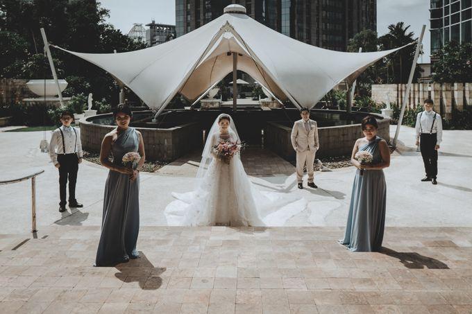 Anton & Cynthia Wedding Day by Mimi kwok makeup artist - 023