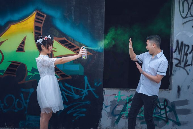 Prewedding at Gedung Gobel of Dessy & Aldo by: Gofotovideo by GoFotoVideo - 031