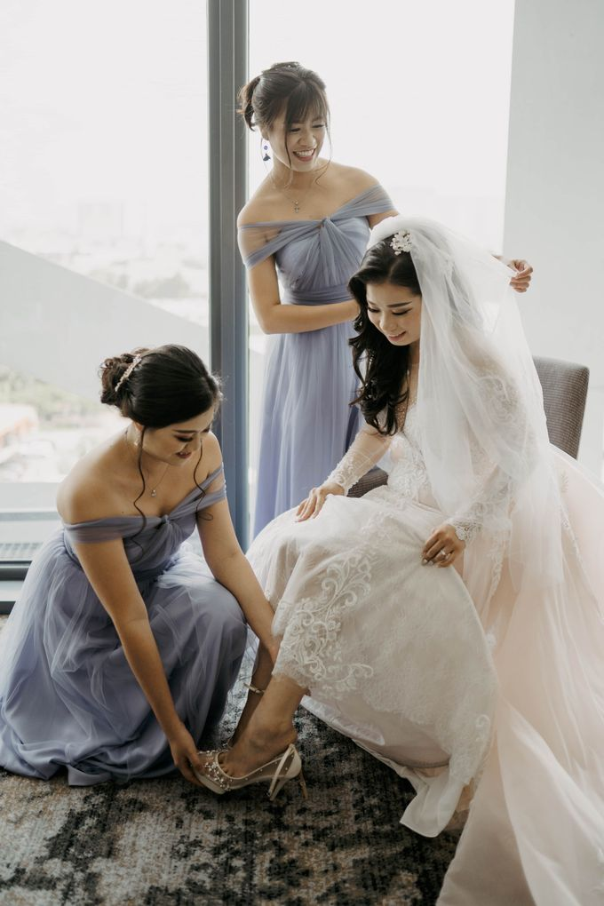 Wedding Day of Yanto & Marcella by KIN Moments - 020