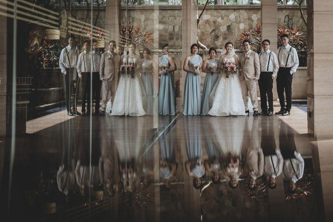 Anton & Cynthia Wedding Day by Mimi kwok makeup artist - 022