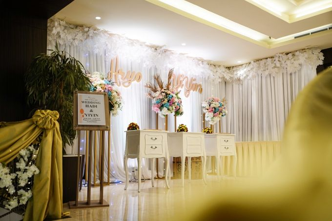 THE WEDDING OF A & Y by GLORIOSA DECORATION - 008