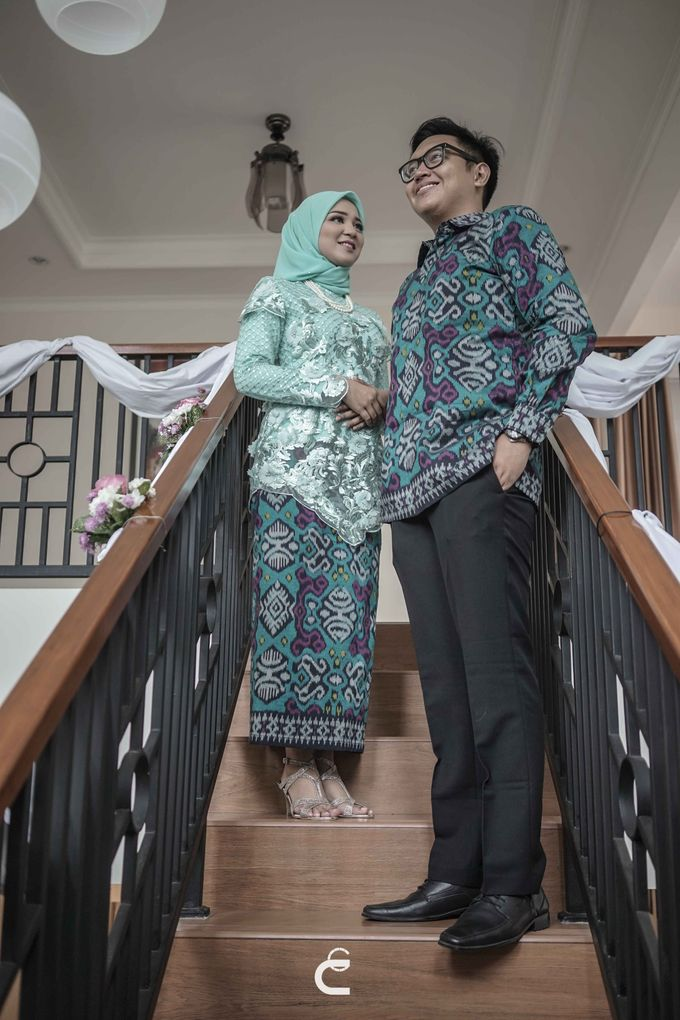Engagement of Haezah & Rizky by Glenn Chandra Wedding - 031