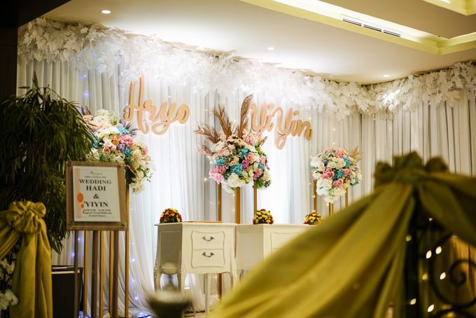 THE WEDDING OF A & Y by GLORIOSA DECORATION - 013
