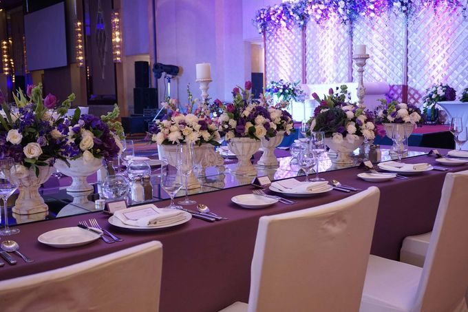 Reception Styling by Natural Art Flowers and Decors - 010