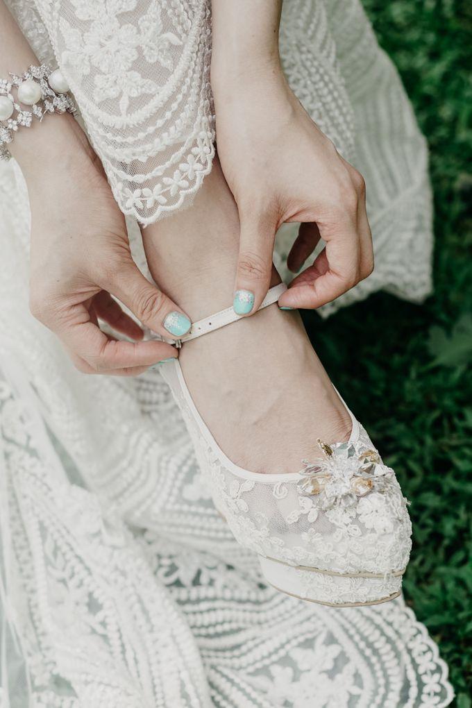 Tropical Wedding - Chintya & Glen by ELNATH - 027