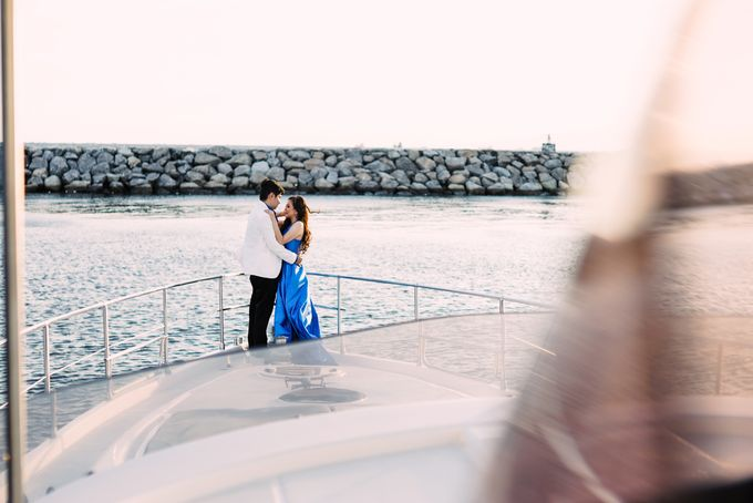 James & Sheila Prenup at National Museum and Manila Yacht Club by Honeycomb PhotoCinema - 007