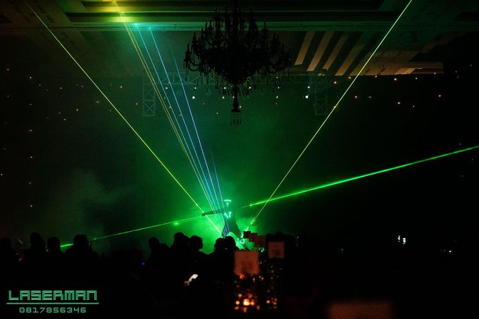 laserman indonesia l lasermanjakarta l laserman show for exquisite awards l Kempinski hotel by Laserman show - 004