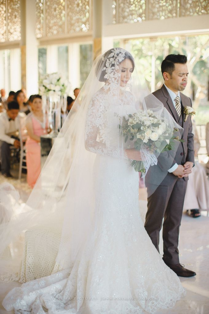 The Wedding of Acha & Andy by Bubah Alfian Make Up Artist - 013