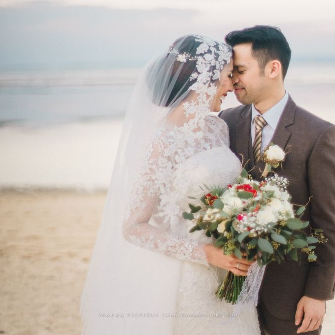 The Wedding of Acha & Andy by Bubah Alfian Make Up Artist - 015