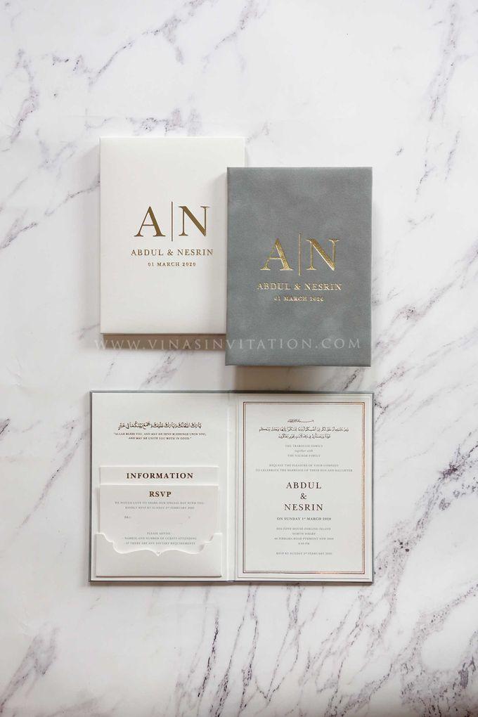 Abdul & Nesrin by Vinas Invitation - 001