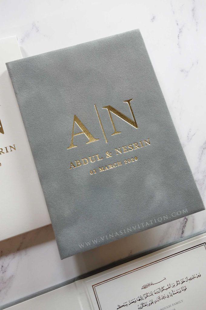 Abdul & Nesrin by Vinas Invitation - 002