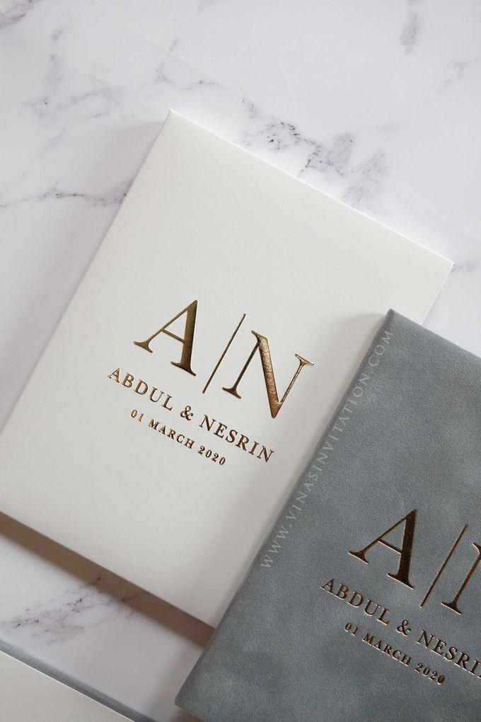 Abdul & Nesrin by Vinas Invitation - 003