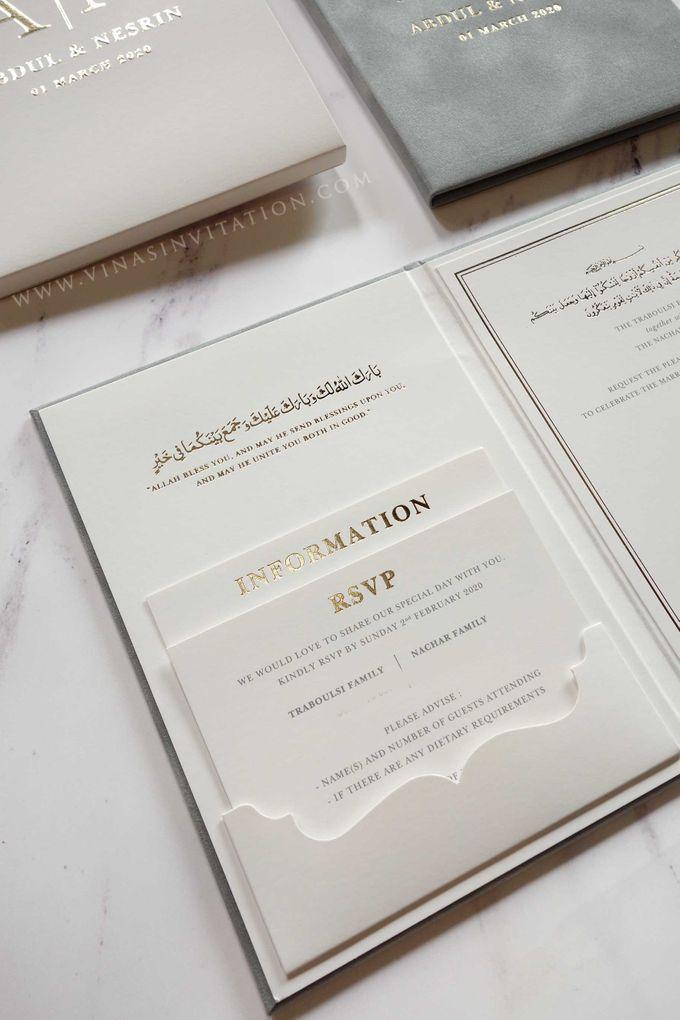 Abdul & Nesrin by Vinas Invitation - 004