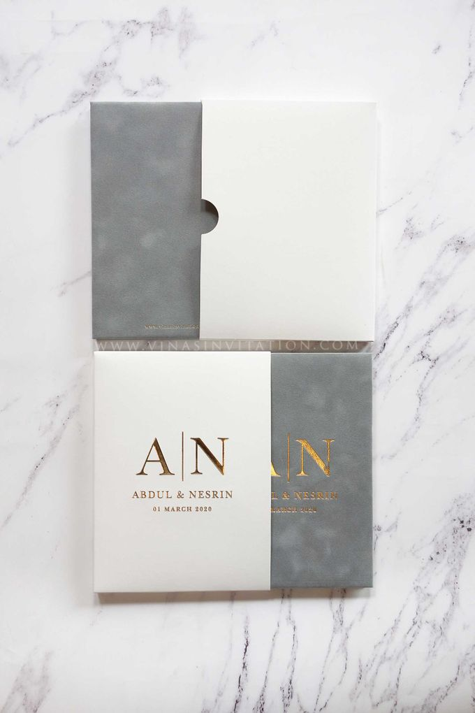Abdul & Nesrin by Vinas Invitation - 007