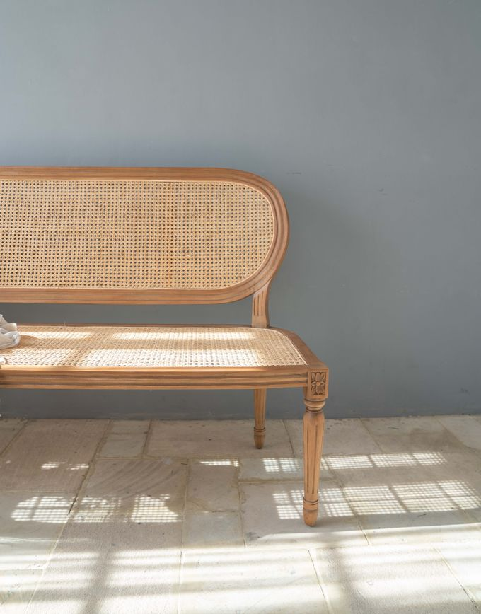 Louis Chairs and Bench Set by Le Scarlet Rental - 008