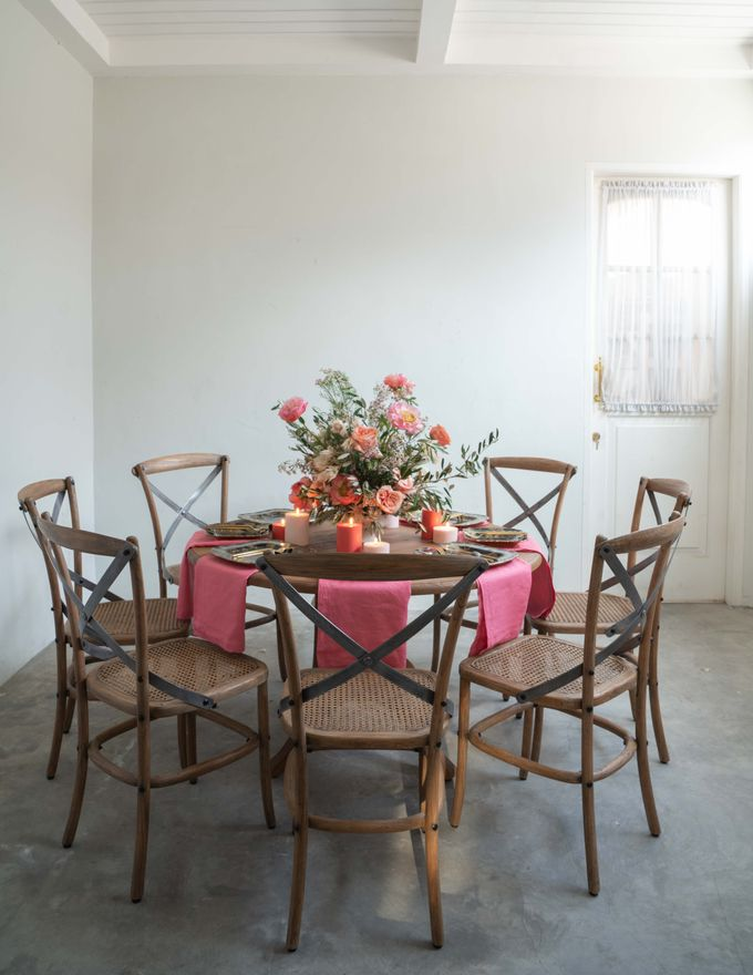 Crossback Chairs by Le Scarlet Rental - 007