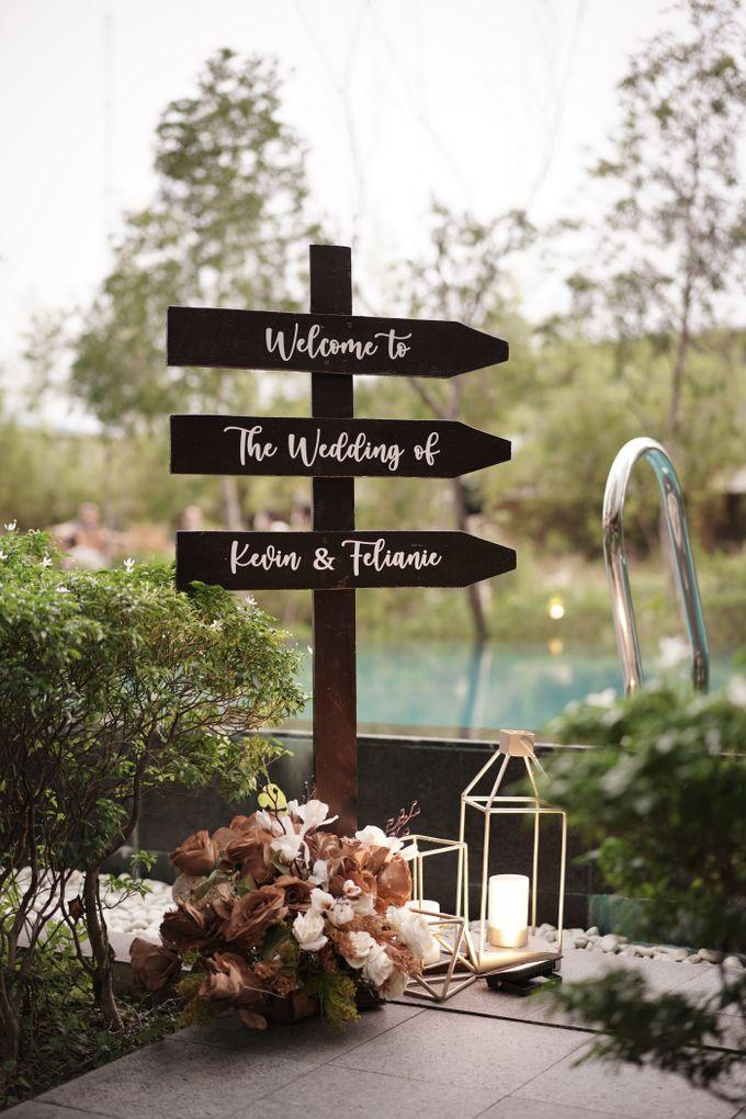 Kevin & Felicia Wedding At Summer Pool Swissotel by Fiori.Co - 008