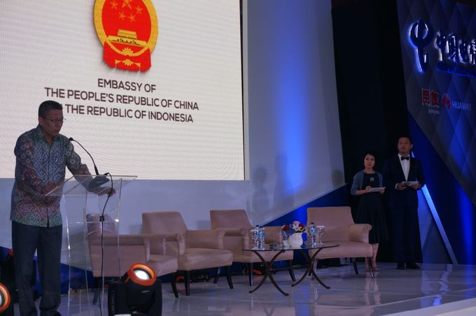 Indonesia Chinese Enterprise Information Development Forum by MC Mandarin Linda Lin - 003