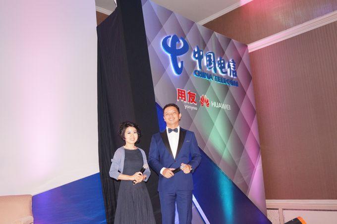 Indonesia Chinese Enterprise Information Development Forum by MC Mandarin Linda Lin - 001