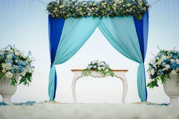 Marion & Vincent Wedding by Holiday Inn Resort Bali Benoa - 002