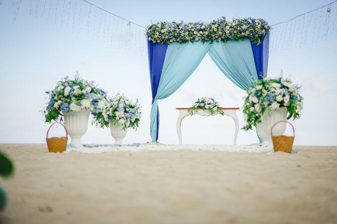 Marion & Vincent Wedding by Holiday Inn Resort Bali Benoa - 003