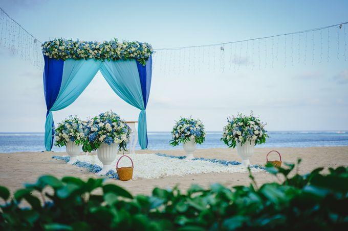 Marion & Vincent Wedding by Holiday Inn Resort Bali Benoa - 005
