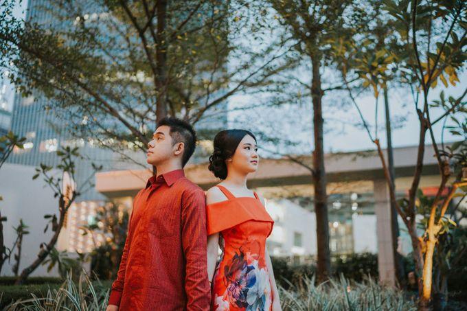 Gaby & Kevin Engagement at Mandarin Oriental Hotel by Mandarin Oriental, Jakarta - 002