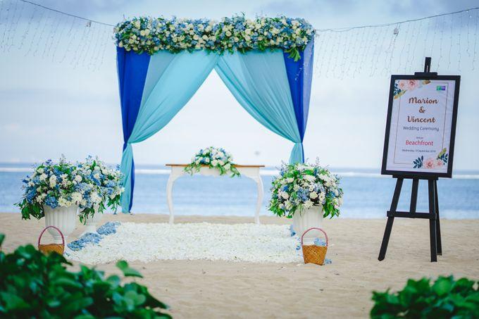 Marion & Vincent Wedding by Holiday Inn Resort Bali Benoa - 001