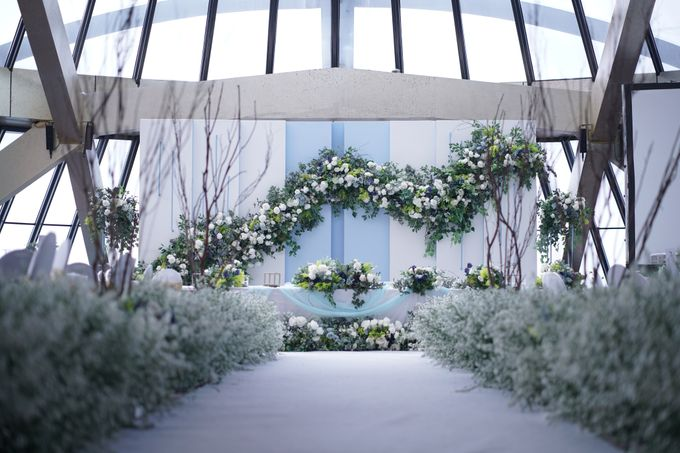 Theo & Chaye Wedding At JHL Solitaire Serpong by Fiori.Co - 001