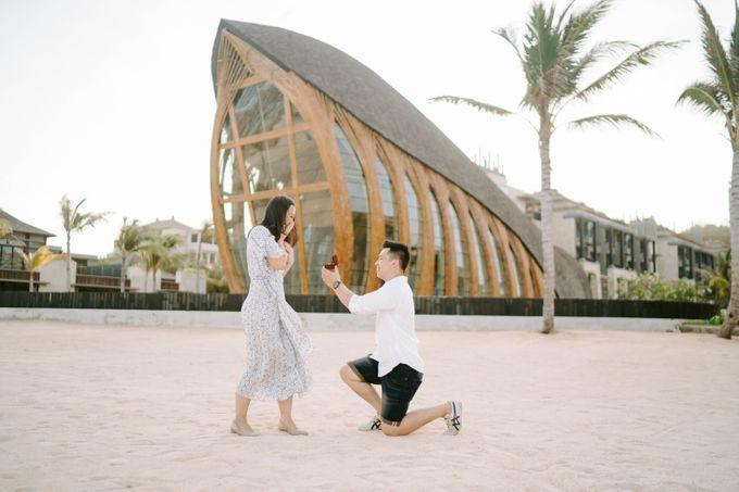 Proposal Jeffrey & Desy by The Apurva Kempinski Bali - 001
