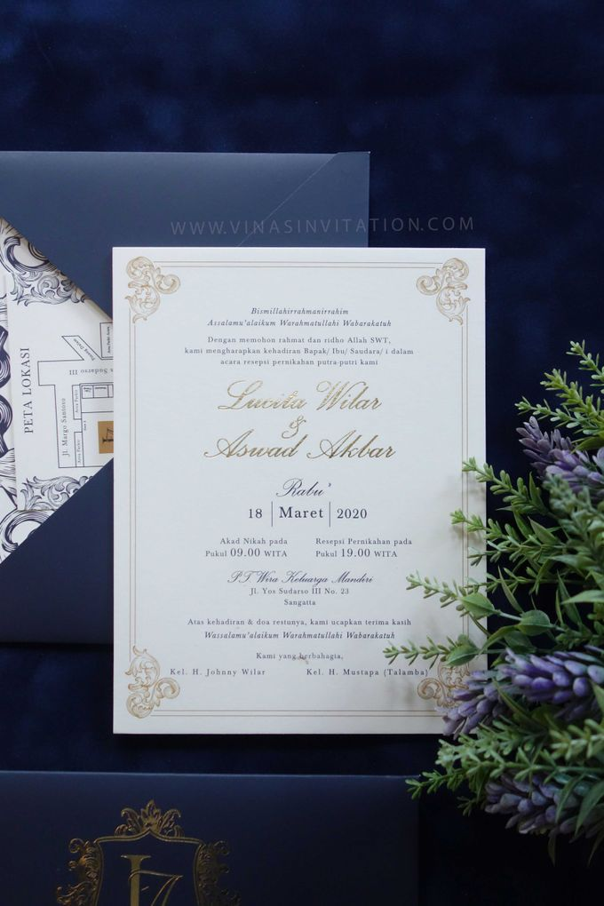 Lucita & Aswad by Vinas Invitation - 003