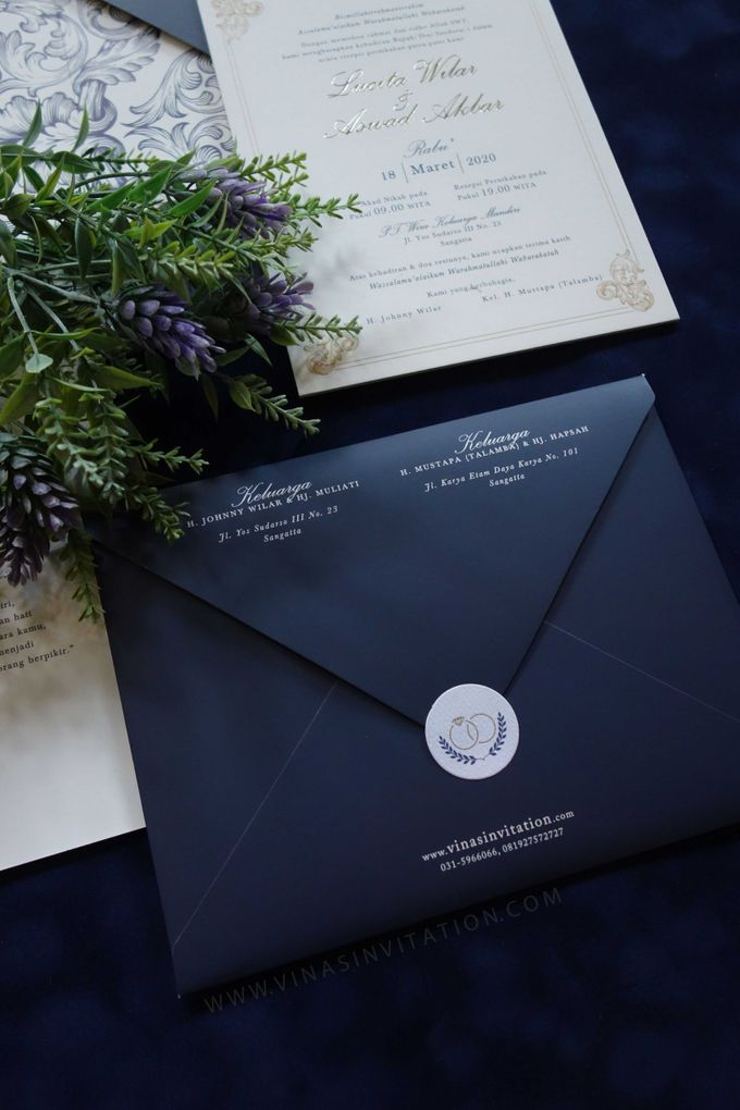 Lucita & Aswad by Vinas Invitation - 006