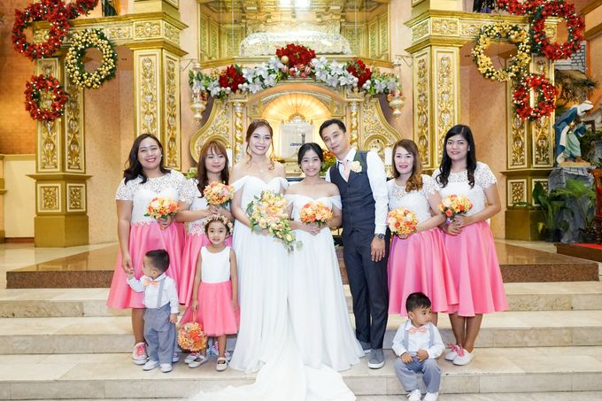 Peach Wedding - Marvin & Jejomarie 1.8.2018 by Icona Elements Inc. ( an Events Company, Wedding Planning & Photography ) - 002
