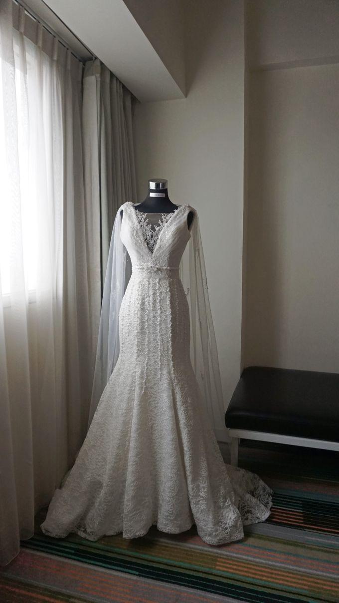Markus & Tressi's Wedding by Cloche Atelier - 003